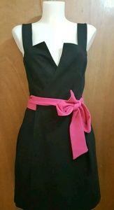 Diane von Furstenberg little black dress sz 10 NWT